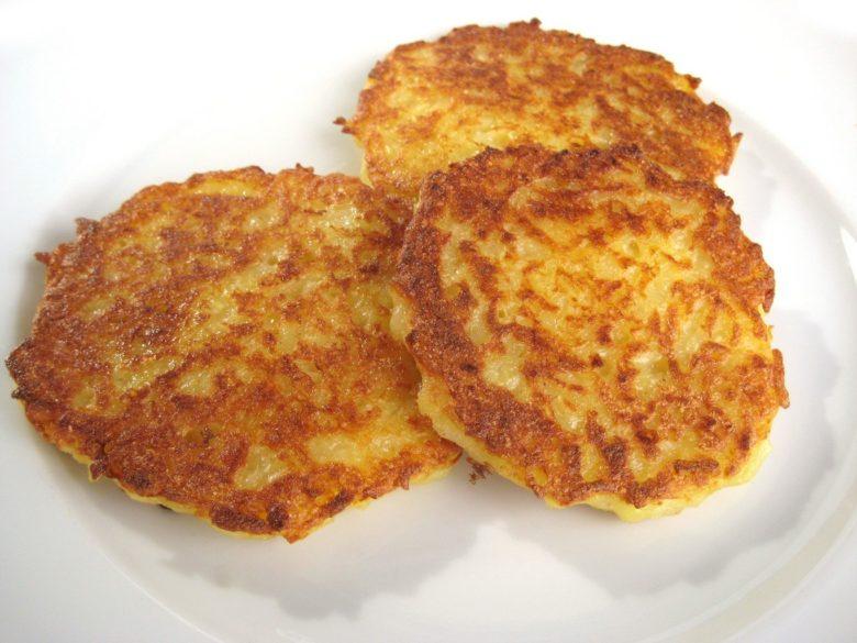 Драники из подмерзлого картофеля