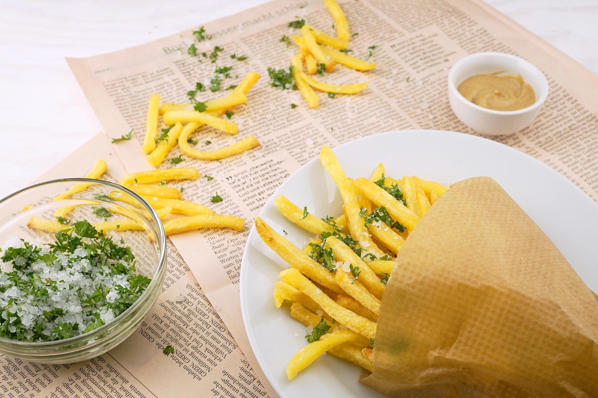 Картофель Фри можно легко приготовить дома