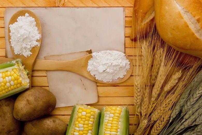 Картофельный и кукурузный продукт