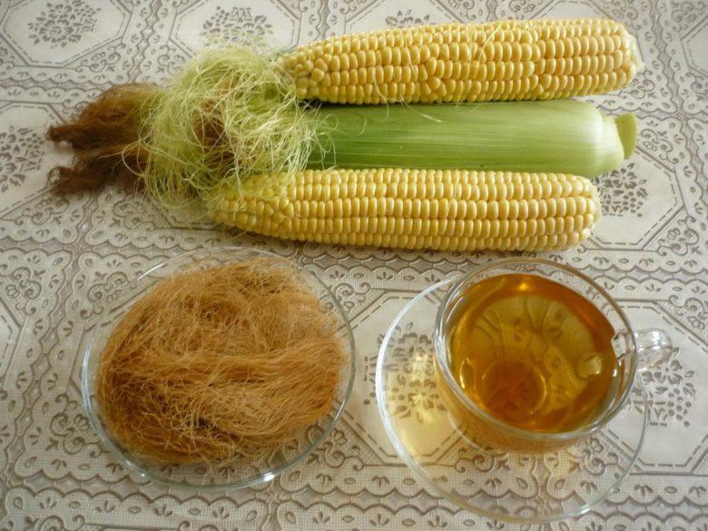 Отвар из кукурузных рылец