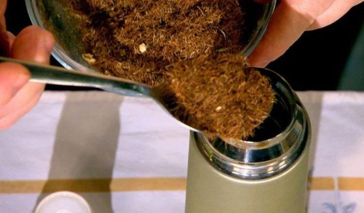 Приготовление настоя из кукурузных рылец