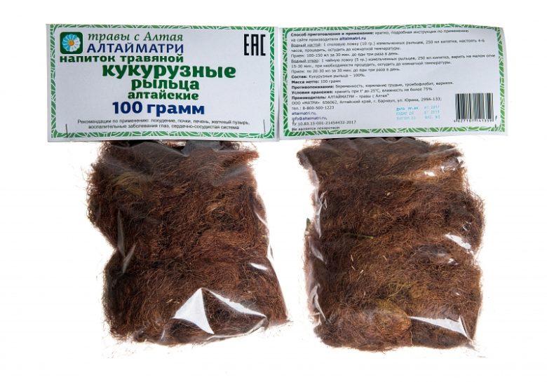 Сушенные кукурузные рыльца