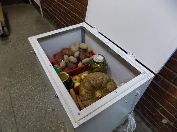 Термошкаф для овощей