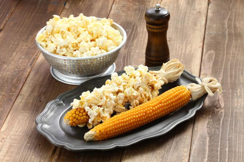 Вкусный и полезный попкорн