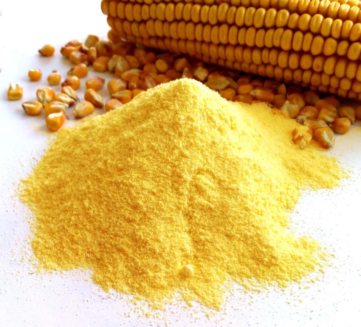 Желтая кукурузная мука
