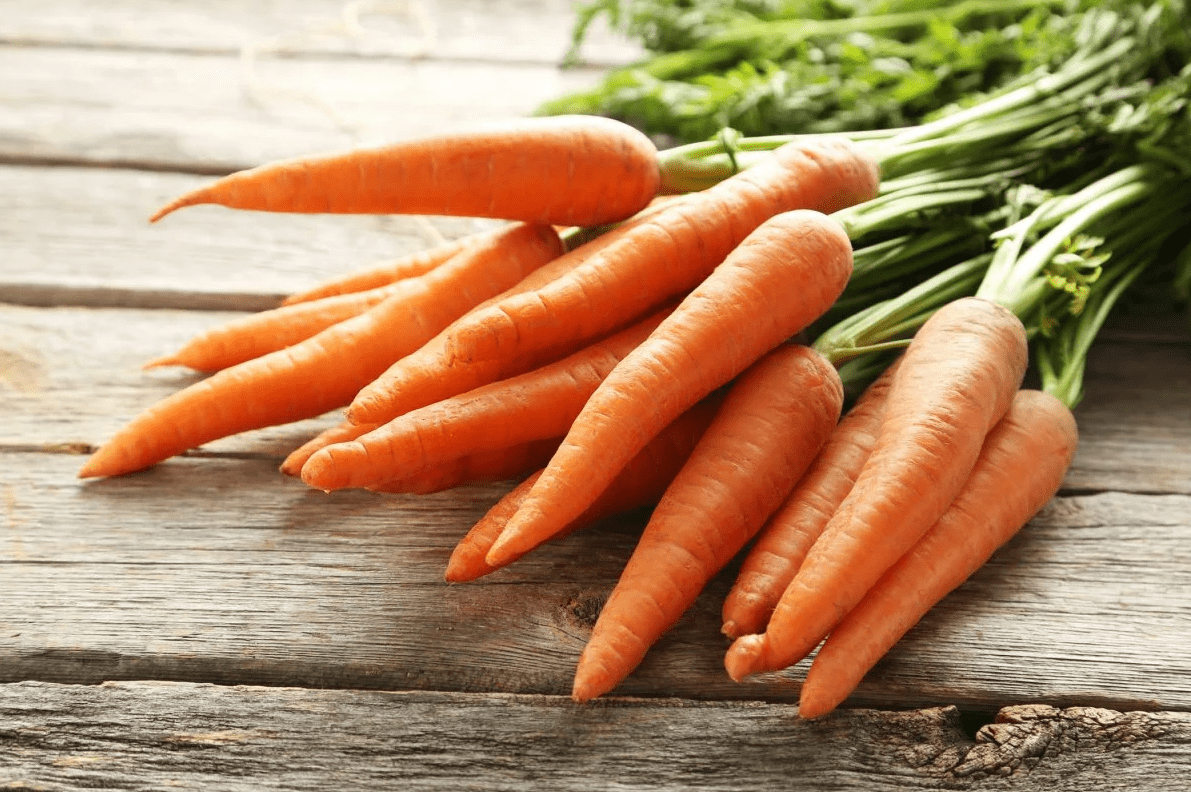 Химический состав моркови свежей