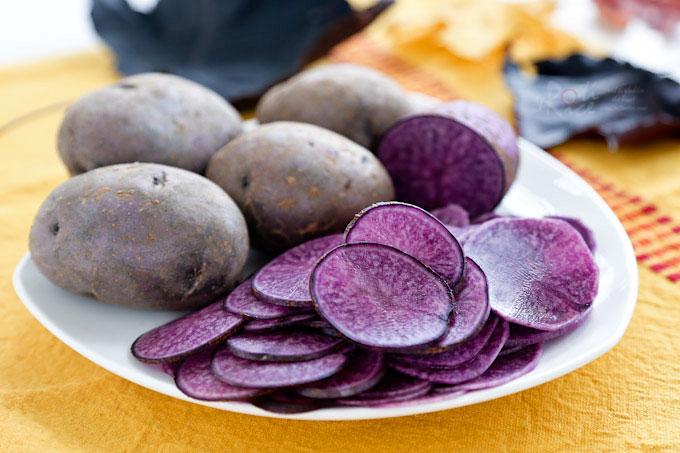 Польза фиолетовой картошки