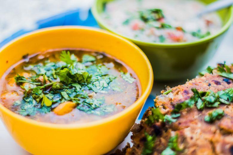 Кинза в блюдах кавказской кухни